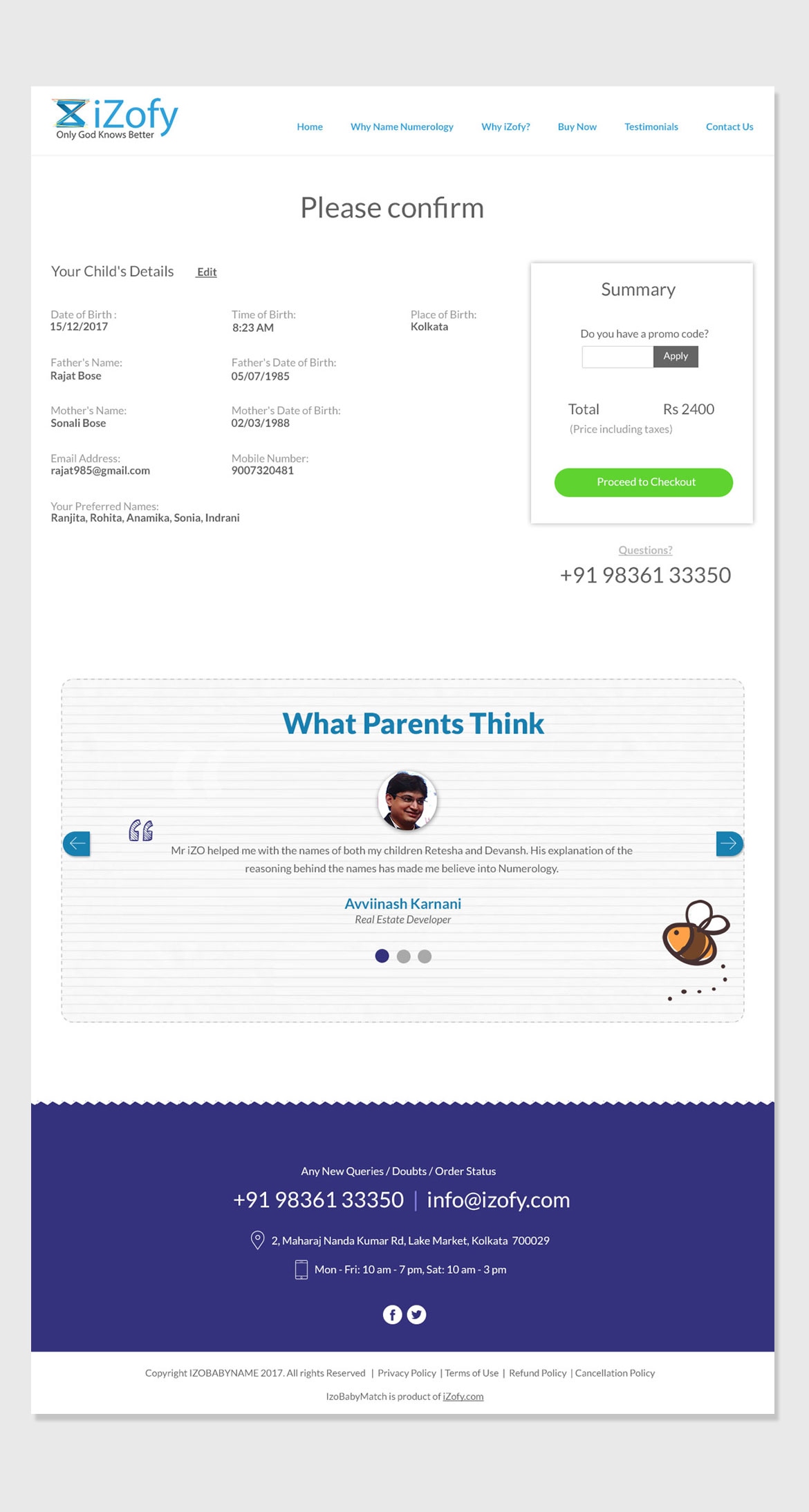 babynumerology-Website-Ui-Ux-Design-Payment-Screen