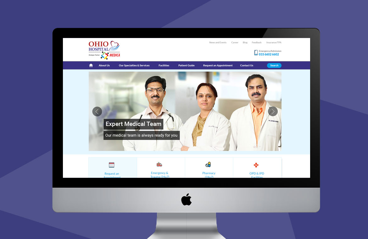 hosptal-website-design-top-screen